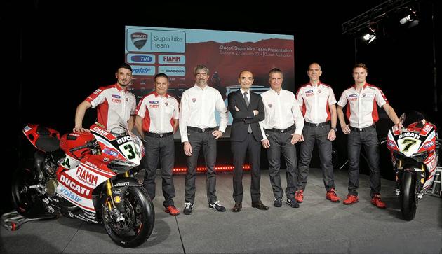 DUCATI正式回归WSBK赛事发表2014参赛阵容