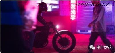 全新改装创意NeroMKII复古摩托车