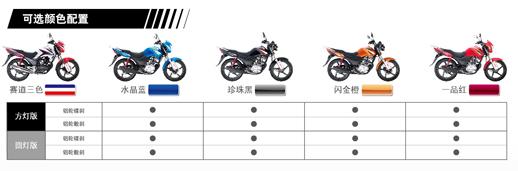 时尚运动范新大洲本田全新CBF125
