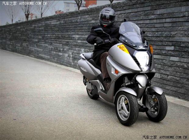 不一样的摩托车之倒三轮摩托车 牛摩网