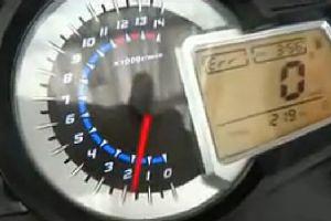 蓝宝龙300原地发动机试车