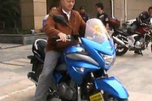 豪爵铃木GW250S试骑试驾