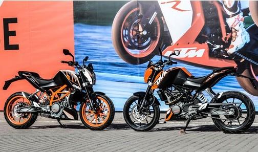 KTM200DUKE与390DUKE将于3月27日上市