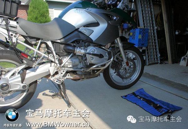 BMWR1200GS调整气门间隙
