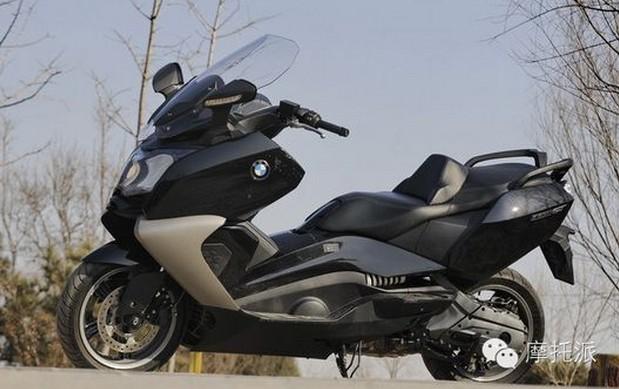 完美演绎时尚动感BMWC650GT