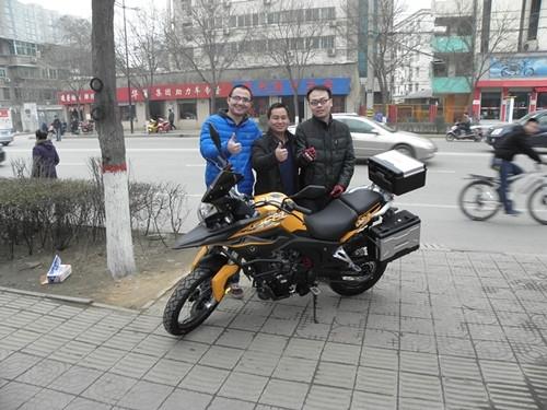 宗申人因你而骄傲RX3多款友车照片花絮
