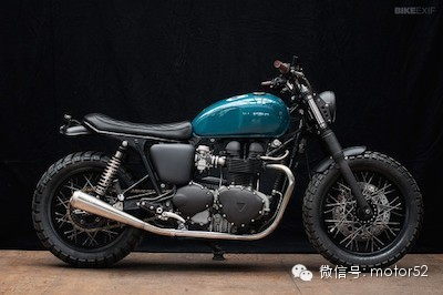 Wrench Mokees 改装凯旋Thruxton