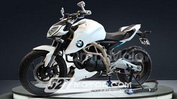 宝马或与TVS合作推出300cc单缸街车2015年上市
