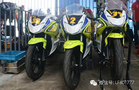 2014摩托车锦标赛三水揭幕力帆新阵容亮相