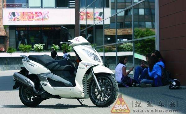 都市踏板贝纳利2014款ZenZero350