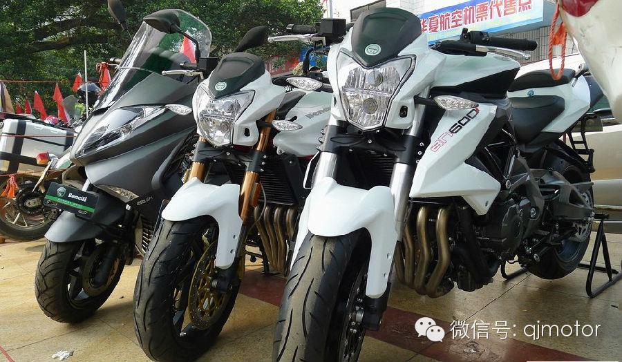 贝纳利多款产品亮相首届广西摩托车友好团队联合年会