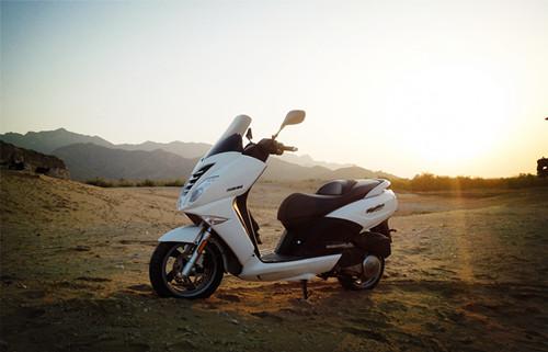 北京标致摩托房山骑行活动开始啦!