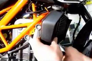 KTM DUKE 200/390 DIY更换排气