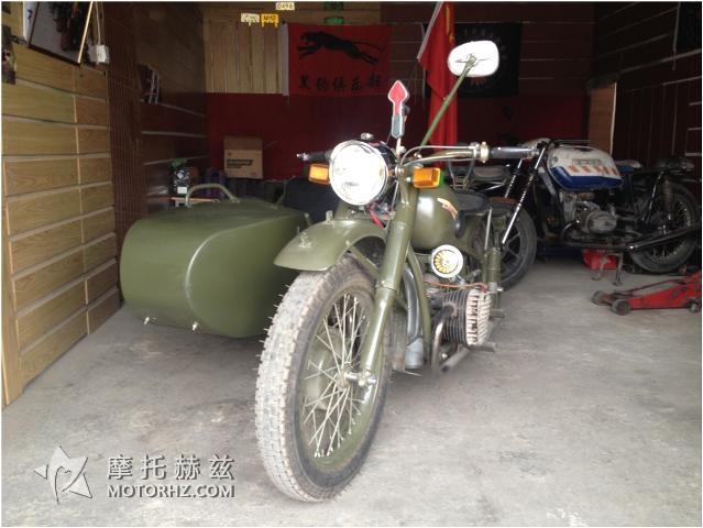 摩托史上的骄傲细说长江750M1