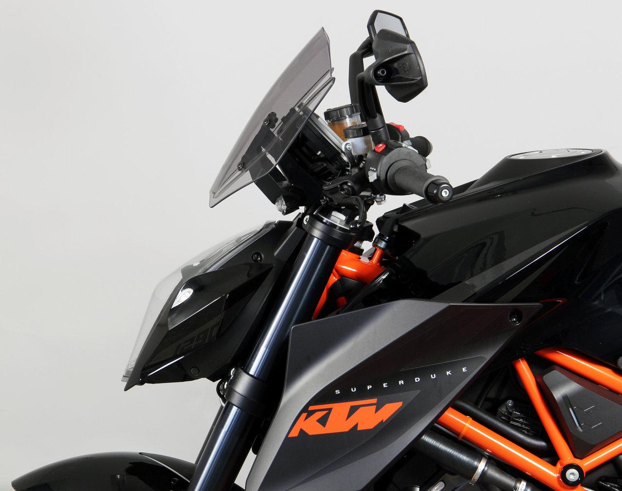 改装:KTMDuke1290设计风档