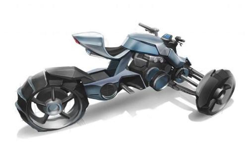 各种霸气设计!超帅摩托车手绘作品