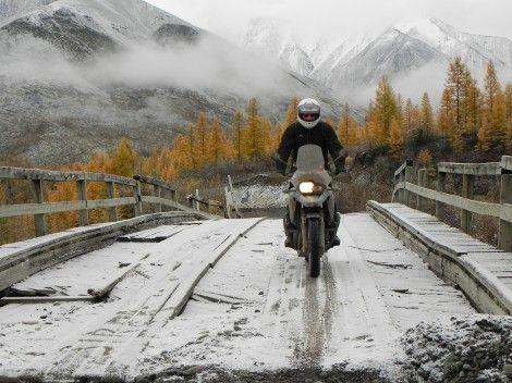 俄旅行家将开启摩托车环球之旅行程超15万公里