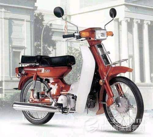 引进日本技术中国弯梁摩托车开始起航