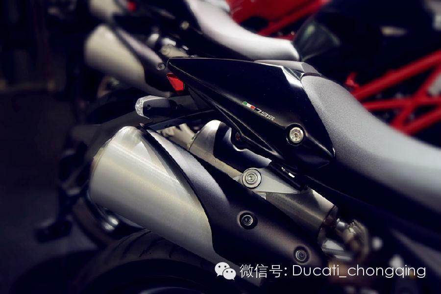 经典杜卡迪monster 795降临山城重庆高清图片