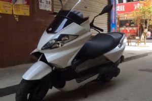钱江银刃BJ250T-8骑行视频