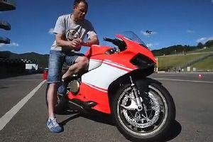 2014 杜卡迪1199 Superleggera超级摩托车 分解展示及试驾