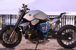2014年New宝马概念摩托车跑车