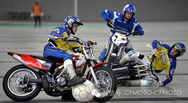 当足球邂逅摩托车
