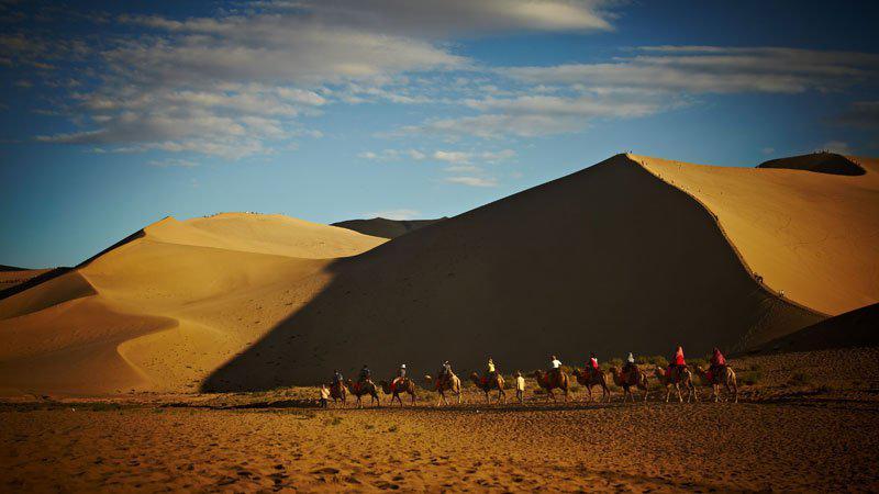 在古代,丝绸之路可是一条东方与西方之间经济图片