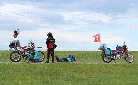 中国摩托文化正在摩旅中形成
