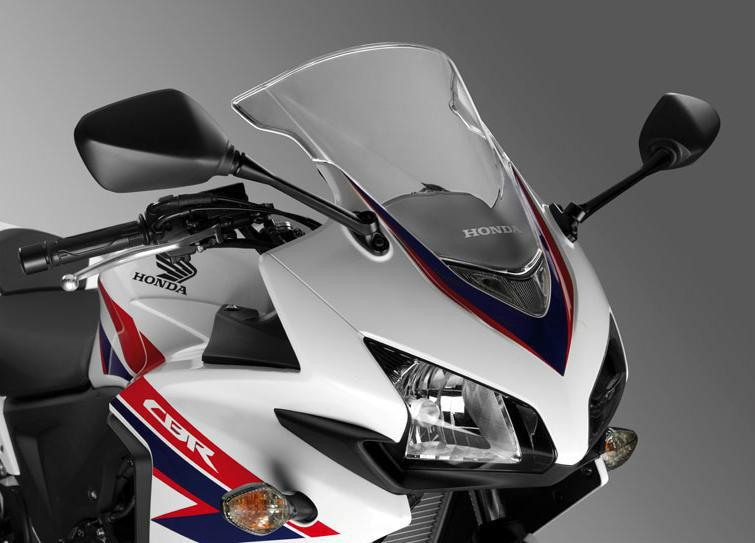 本田CBR500R中量级运动型摩托车的标杆