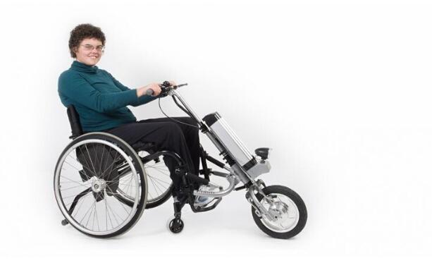 Firefly:让轮椅变身摩托车