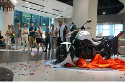 创想绝伦悦享驾驭HondaNC750S上海发布