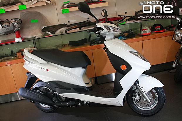 雅马哈迅鹰CYGNUSZ125抵港销售