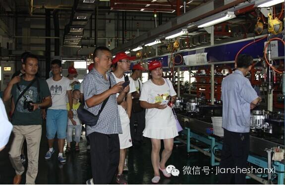 建设摩托陕西、湖北经销商重庆工业游