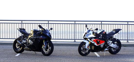 宝马S1000RR14款VS11款街道对比