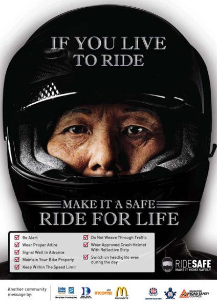 宝贵一位老摩友的安全骑行经验总结