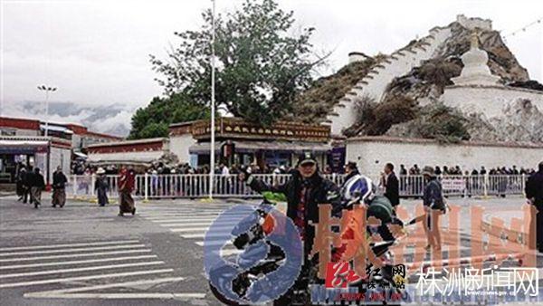 51岁老师独自骑摩托车去西藏