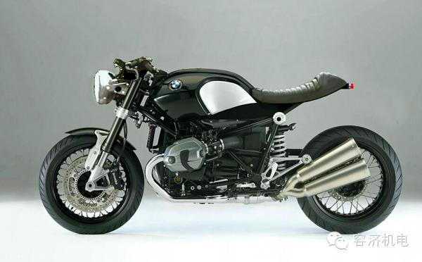 复古摩托车是这样打造出来的图片