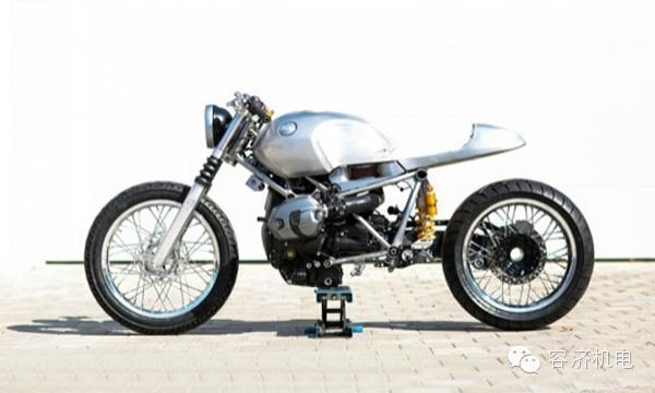 复古摩托车是这样打造出来的