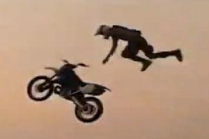 越野摩托车搞笑意外合集(4)