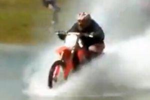 越野摩托车搞笑意外合集(5)