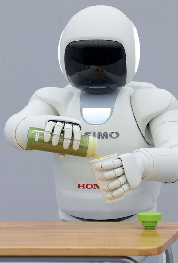 "Honda新一代""阿西莫""机器人在欧洲亮相"