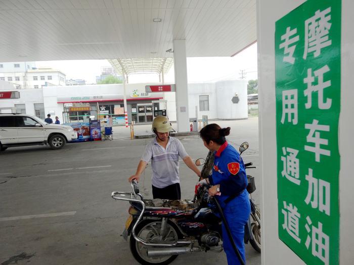 合肥摩托车专用加油通道受欢迎
