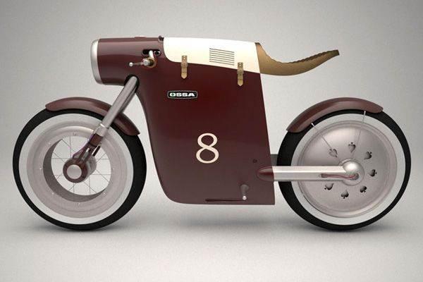 酷味十足的环保摩托车Monocasco