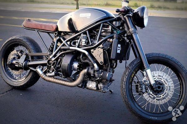 性能强劲的威猛摩托车竟以熏肉油为动力