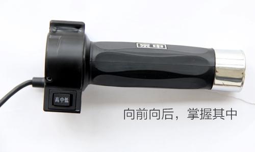 """江苏宗申推出高新技术""""进退一体化转把"""""""