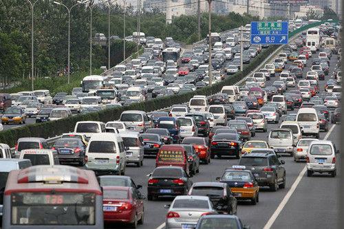 """北京将迎""""最堵月""""使用摩托车巡逻"""