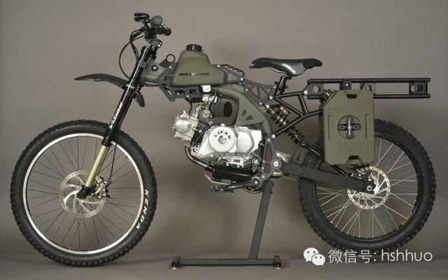 Motoped生存摩托车:黑色行动版