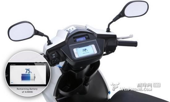 iPhone手机还可以做电动摩托车仪表盘?