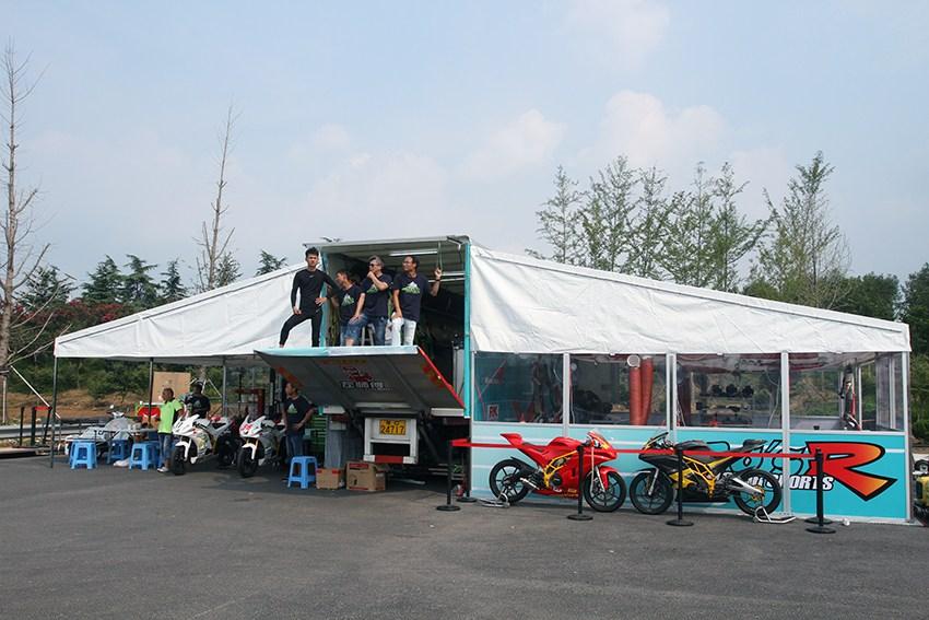 全国电动摩托车赛临沂站揭秘宗申大本营